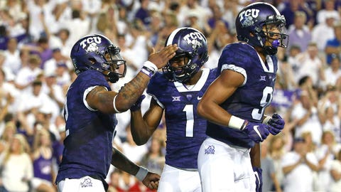 Trevone Boykin, QB, to Josh Doctson, WR, TCU Horned Frogs