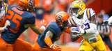 WATCH: LSU's White explodes for awesome punt-return TD vs. 'Cuse