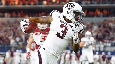 Christian Kirk, WR, Soph. (Texas A&M)