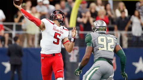 6. Patrick Mahomes, Junior, Texas Tech