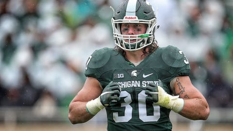 Riley Bullough/Malik McDowell, LB/DE, Michigan State