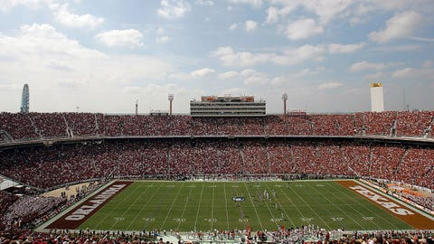 Norman is closer to the Cotton Bowl than Austin
