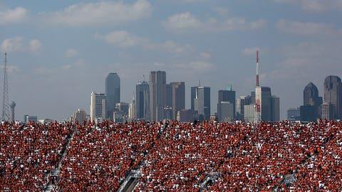 Rivalry moved to Dallas in 1912
