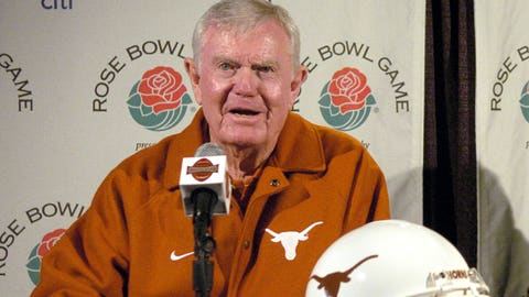 Legendary Texas coach Darrell Royal played for Sooners