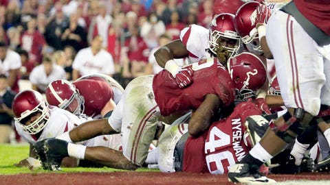 Alabama 27, Arkansas 14