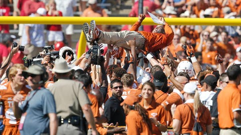 Texas-sized party for Charlie Strong