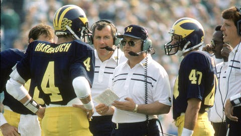 Bo Schembechler finally wins a bowl game (1981)