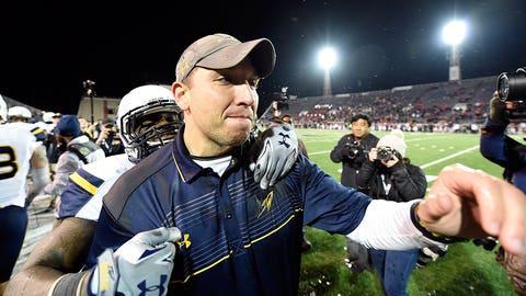 Toledo coach Matt Cambell