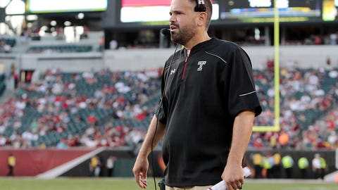 Temple coach Matt Rhule