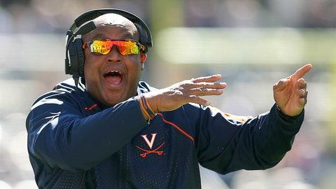 Virginia coach Mike London, $3,198,400