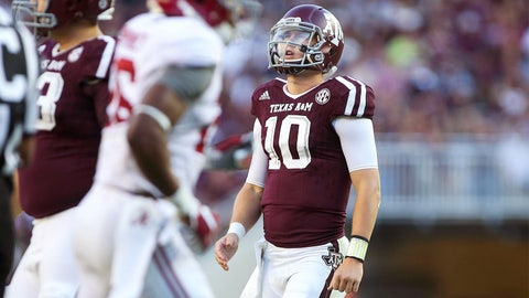 Loser: Texas A&M (and Kyle Allen)