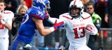 Winless Kansas gives high-powered Texas Tech scare, but can't pull off upset