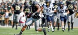 WR Coleman breaks Baylor single-season TD record in No. 2 Bears' win vs. West Virginia