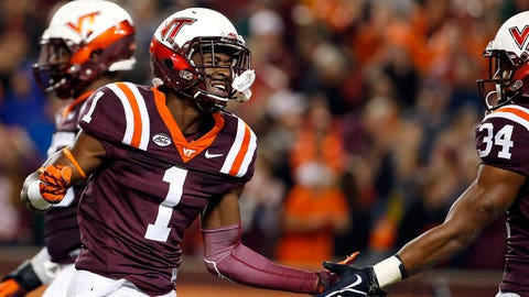 Virginia Tech WR Isaiah Ford