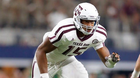 Myles Garrett, DE, Texas A&M vs. Josh Rosen, QB, UCLA (Saturday, 3:30 p.m. ET)