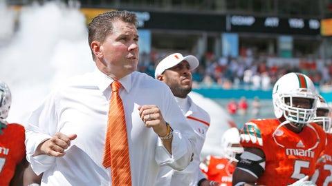 Miami (FL) coach Al Golden, $2,539,315