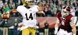 WATCH: Kizer threads the needle for Notre Dame game-winning TD to Will Fuller