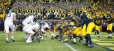 Michigan State OL could be coming together just in time