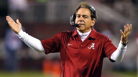 Alabama coach Nick Saban, $7,087,481