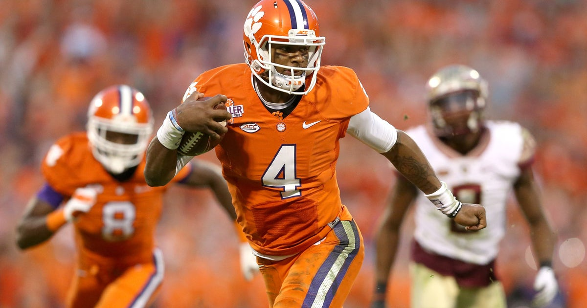 Clemson bucks trend drops ohio state out of no 1 spot in for M go fish