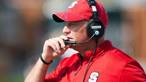 NC State coach Dave Doeren, $2,200,000