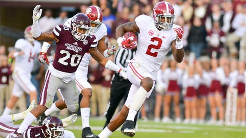 Alabama 31, Mississippi State 6