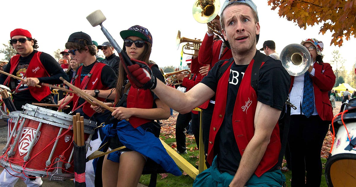 WATCH: The Stanford band has some seriously amazing ...