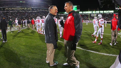 Ohio State at Michigan State: Saturday, November 19th