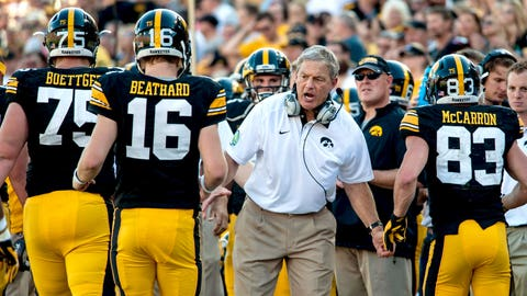 Iowa coach Kirk Ferentz, $4,075,000