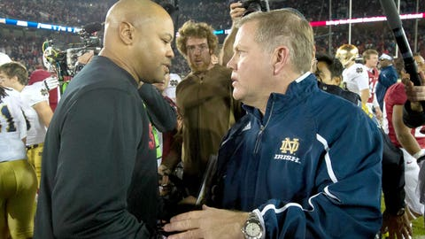 Stanford at Notre Dame: Saturday, October 15th