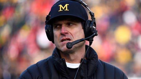 Michigan coach Jim Harbaugh, $7,004,000