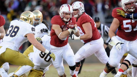 Stanford 38, Notre Dame 36