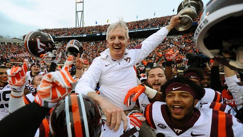 Virginia Tech coach Frank Beamer, $2,775,925