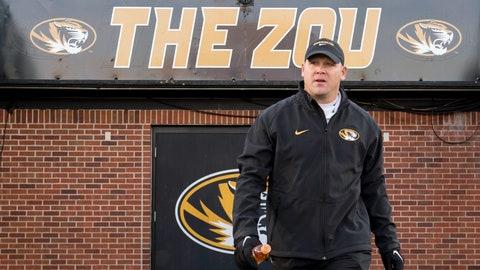 Missouri: Promoted defensive coordinator Barry Odom