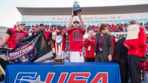 Winner: Brandon Doughty (and Western Kentucky football)