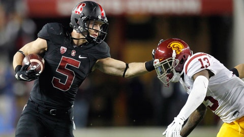 Winner: Stanford RB Christian McCaffrey