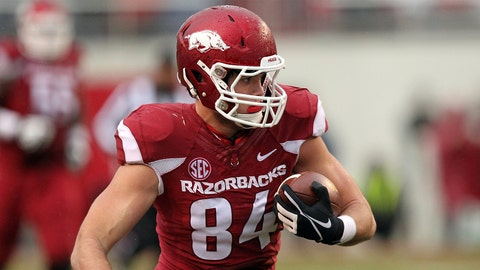 TE: Hunter Henry - Arkansas