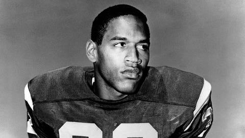 O.J. Simpson, RB, USC (1967)