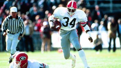 Herschel Walker, RB, Georgia (1980)