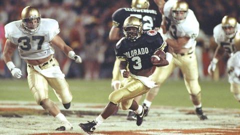 Jan. 1, 1991: Colorado 10, Notre Dame 9