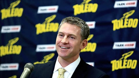 Honorable mention: Toledo: Promoted offensive coordinator Jason Candle