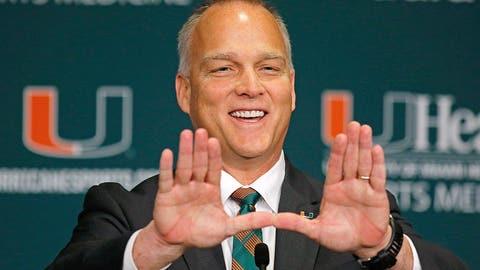 Miami: Hired former Georgia coach Mark Richt