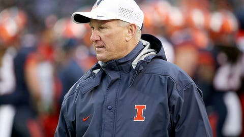 Illinois: Promoted interim coach Bill Cubit