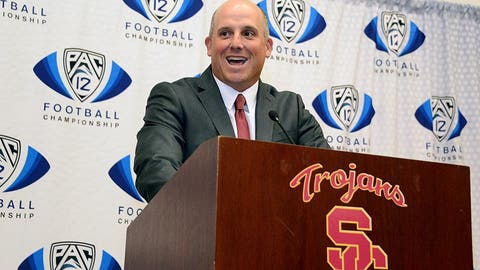 USC: Promoted interim coach Clay Helton