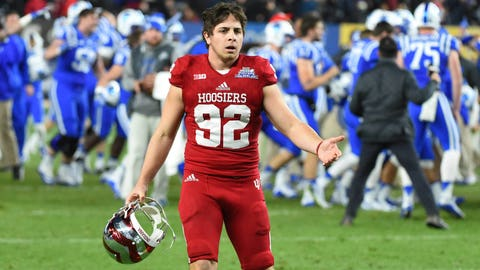 Loser: Indiana football (and kicker Griffin Oakes)