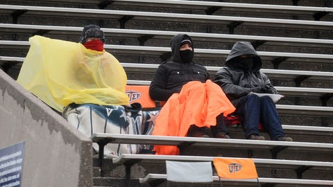 Hope you brought your poncho