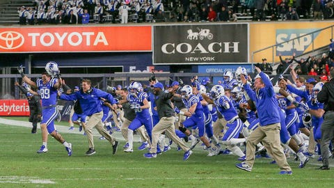 Winner: Duke football