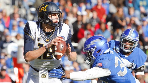 Winner: Cal QB Jared Goff