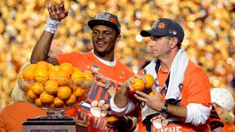 Dec. 31: Orange crush