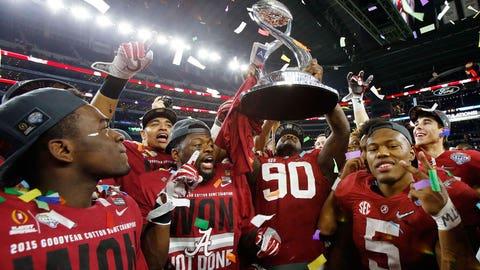 Winner: Alabama football